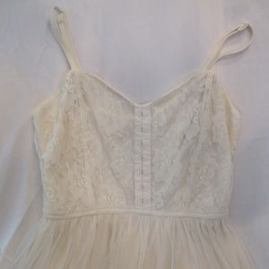 Urban Outfitter's Cream Lacy Dress